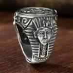Оригинал Новый Винтаж Horus Anubis Wanderer Ring
