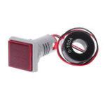 Оригинал Красный Свет AC 60-500 В 0-100A D18 Квадрат LED Цифровой Двойной Дисплей Вольтметр Амперметр Датчик Измеритель Тока Метр