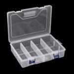 Оригинал F240 234x168x62MM Двухслойный компонент Коробка Запчасти Коробка Хранение Коробка Инструмент Коробка Электронный компонент Коробка