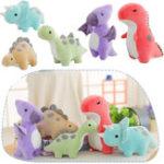 Оригинал Красочный милый динозавр Кукла плюшевые игрушки для игрушек Grab Machine Кукла подарок для мальчиков и девочек