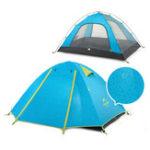 Оригинал NaturehikeNH15Z003-PДвойнойалюминиевыйстолбНа открытом воздухе Палатка Кемпинг UPF50 + анти-УФ PU2000 Водонепроницаемы