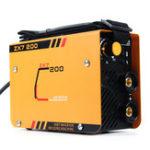 Оригинал ZX7-200 220V 10-200A Ручной мини-сварочный сварочный сварочный аппарат Инструмент