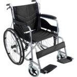 Оригинал 24-дюймовый складной складной стул Медицинская инвалидной коляски