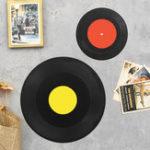 Оригинал Ретро Classic Виниловый фонограф Record Альбом Настенный Домашний Бар Тематические Украшения