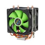 Оригинал 90-мм 3-контактный радиатор охлаждения процессора Тихие вентиляторы для Intel LGA775 / 1156/1155 для двухстороннего вентилятора AMD / AM2 / AM3