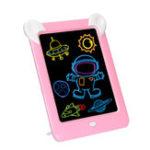 Оригинал 3D Волшебный Блокнот для рисования LED Письменный планшет Led Kids Для взрослых Дисплей Панель Светящийся планшет для рисования Игрушка