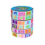 Оригинал Цилиндрическая Волшебный Cube Цифровая головоломка Пластиковая детская игра Игрушка Раннее образование Обучение