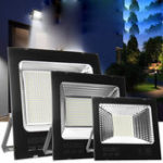 Оригинал Супер Яркий 50 Вт 100 Вт 200 Вт LED Прожектор IP65 Водонепроницаемы На открытом воздухе Сад Пятно безопасности Лампа AC220V