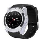 Оригинал Bakeey V8 Butil-in GPS Отслеживание активности 360 МГц 32G Расширение TF-карты SMS Музыкальный плеер Smart Watch Phone