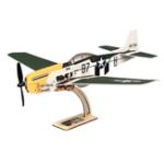 Оригинал MinimumRC P-51 Mustang 4CH 360 мм Размах крыльев RC Самолет с фиксированным крылом KIT / PNP