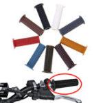 Оригинал 7/8 дюйма 22 мм резиновая рукоятка концевая рукоятка для мотоцикл ATV Dirt Bike Cafe Racer