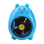 Оригинал 2.5W USB мультфильм мини электрический вентилятор настольный вентилятор охлаждения