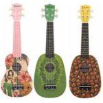 Оригинал IRIN 21 дюймов 4 струны Basswood Soprano Ukulele Uke Музыкальный инструмент