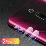 Оригинал Bakeey™2PCSЗащитаотцарапин HD Прозрачное закаленное стекло Телефон камера Объектив Протектор для Xiaomi Redmi K20 / Xiaomi Redmi K20 Pro