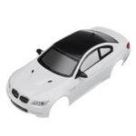 Оригинал Firelap RC Авто Корпус Для 1/28 Das87 Wltoys Mini-Q RC Модель Автомобиля Белый