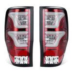 Оригинал Пара Авто Задние задние фонари стоп-сигналов для Ford Ranger T6 T7 XL XLT MK1 MK2 2012-2018
