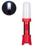 Оригинал Skywolfeye 300 Lumens Flashlight AA Battery Adjustable Night Warnning Light Camping Hunting Cycling Portable Torch Lamp