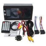 Оригинал 7023B 7 дюймов 2 DIN Авто Stereo Радио HD Сенсорный экран Bluetooth мультимедиа плеер FM MP5 TF USB с камера