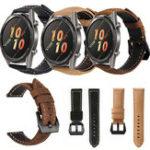 Оригинал Bakeey Натуральная Кожа Часы-скраб с ремешком Стандарты для Huawei GT Active Smart Watch
