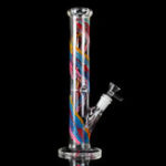 Оригинал Smoke H-ookah Water Glass B-ong Joint T-obacco Трубная посуда 30см