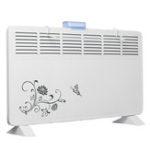 Оригинал 220 В 2000 Вт Электрический Нагреватель Вентилятор Настенный 6 Выход воздуха 2 Скорости Водонепроницаемы