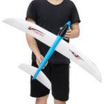Оригинал 100см размах крыльев ручной фиксированный самолет DIY гоночный самолет Epp пена самолет