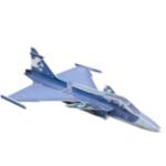Оригинал JAS39 PP 1220mm Wingspan RC Самолет Фиксированный комплект