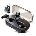 Оригинал X6 2 в 1 Беспроводная связь Bluetooth 5.0 Наушник Водонепроницаемы Binaural Call Touch Стерео-вкладыши TWS Наушники с зарядным устройством