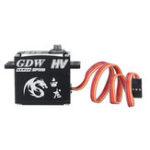 Оригинал GDW IPX893 HV 35 кг Металлический редуктор 160 ° без сердечника Водонепроницаемы Цифровой Сервопривод Для 1:8 1:10 RC Авто