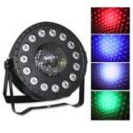 Оригинал 30W RGB Stage Light 15 LED Par Лампа Дистанционный Управление звуком для клуба DJ Party Disco Свадебное Рождество AC90-240V