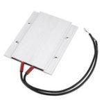 Оригинал 220V PTC Heating Element 77x62x6mm Constant Temperature 100 Degrees ptc Heater Shell Aluminum