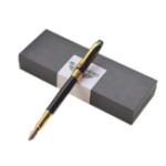 Оригинал Герой 8608 Роскошный Бизнес Фонтан Ручка 0,7 мм Перо Цельнометаллический Китайский Дракон Письменный Ручка Подписание Ручка Офис Школа Канце