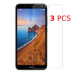 Оригинал Bakee 3PCS Анти-взрыв HD Прозрачное закаленное стекло-экран протектор для Xiaomi Redmi 7A
