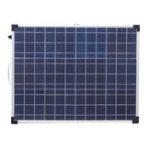 Оригинал Elfeland AFC-12018 100W 18V Алюминиевая рама Складная поликристаллическая Солнечная Панель с контроллером