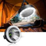 Оригинал 2-в-1 12 LED Кемпинг Фонарь вентилятора фары Лампа Потолочный вентилятор фонарика На открытом воздухе Fun-Battery Style