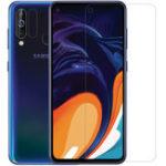 Оригинал NILLKIN Матовый Антибликовый Анти-царапина Soft ПЭТ-экран протектор для Samsung Galaxy A60 2019