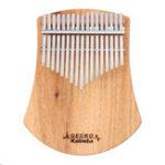 Оригинал GECKO K17CAS 17-клавишное пианино с большим пальцем на пальце из камбары и камфорой, с набором Сумка