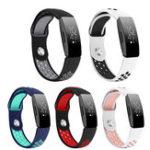 Оригинал Bakeey Double Color Ремень Сменные часы TPU Стандарты для Fitbit Inspire / Inspire HR Smart Watch