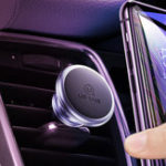 Оригинал USAMS Strong Magnetic Air Vent Авто Держатель для телефона Авто Крепление для 3.5-7.0 дюймов Смартфон iPhone Samsung Huawei Xiaomi