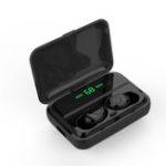 Оригинал Беспроводная гарнитура TWS Bluetooth 5.0 Наушник Двухсторонний вызов Touch Control LED Питание Дисплей С зарядкой Коробка