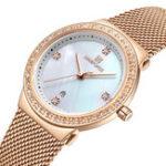Оригинал NAVIFORCE5005CrystalПовседневныйстильженские наручные часы