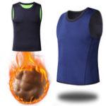 Оригинал Мужчины Тонкий Body Shaper Жилет из неопрена Sport Сауна Спортивная футболка