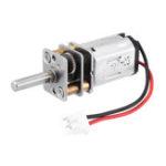 Оригинал Feichao N20 3,0 мм D Тип 6 В постоянного тока Мотор для DIY 4WD RC Авто RC Robot
