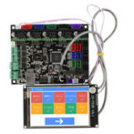 Оригинал MKS GEN L Материнская плата с 3,5 дюймов LCD WIFI с сенсорным экраном Набор для 3D-принтер