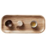 Оригинал CHENGSHE Bamboo Чай Коврик для лотка Kung Fu Чай Изготовление Набор от xiaomi youpin