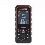Оригинал LOMVUM 80M Bluetooth Лазер Дистанционный Метр USB Аккумуляторная Цифровой Лазер Дальномер Ручной 80м Электрический Выравнивание