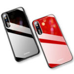 Оригинал Bakeey Shockproof Anti-scratch Tempered Glass Back Cover Protective Case for iPhone XS Max