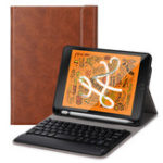 Оригинал Bluetooth для беспроводной Клавиатура Подставка для планшета Чехол с держателем для карандаша для iPad Mini 5 2019