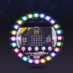Оригинал Microbit Light Ring Плата расширения Micro: бит Полноцветный LED Модуль RGB Драйвер Программируемая плата развития