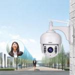 Оригинал Sricam SH028 HD 2.0MP 1080P 5-кратный зум Dome IP камера P2P CCTV для беспроводного наблюдения камера 360 градусов Wifi PTZ На открытом воздухе Водонепроницаемы